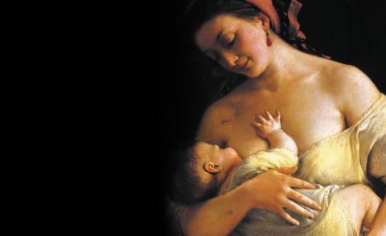 아기에게 젖을 물린 여인의 모습은 숭고하고 아름답다. 그러나'완벽한 식품'인 모유를 생산하는 젖가슴이 각종 화학물질로 오염되면서 유방암 발병률이 높아지고 있다. /MID 제공